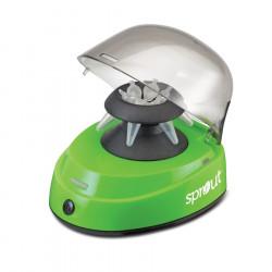 Mini centrifuga sprout dos rotores, 100-240v/60 hz, 0.2 ml a 2.0 ml, max 6.000rpm, varios colores